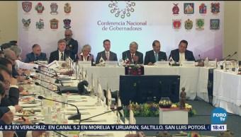 Conago Reúne Andrés Manuel López Obrador Amlo Apoyar Al Nuevo Gobierno Federal