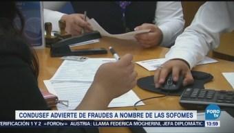 Condusef advierte de fraudes a nombre de SOFOMES