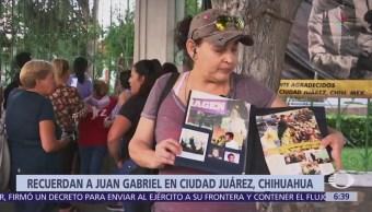 Conmemoran segundo aniversario luctuoso de Juan Gabriel