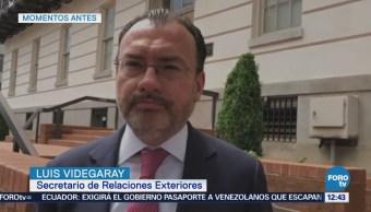 Continúa reunión sobre el TLCAN entre EU y México