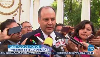 Coparmex pide a AMLO rectificar propuesta