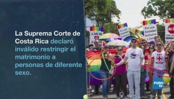 Costa Rica Aprueba Matrimonio Igualitario Homosexual