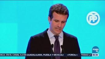 Crece escándalo de Pablo Casado en el PP de España