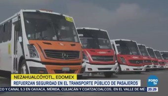 Alfredo Del Mazo Entrega Unidades Trasporte Público Nezahualcóyotl