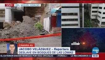 Desalojan 600 personas afectados Bosques de las Lomas