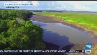 Desaparece la laguna de Chakanbakán
