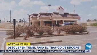 Descubren Túnel Para Tráfico Drogas Arizona KFC Kentucky