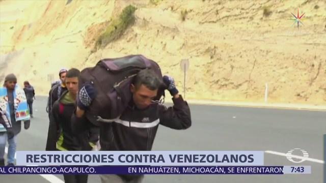 ONU pide países latinoamericanos permitir ingreso refugiados