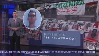 Detienen a 'El Pajarraco', involucrado en desaparición de normalistas de Ayotzinapa