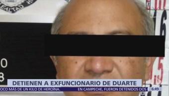 Detienen a otro exfuncionario de la administración de César Duarte