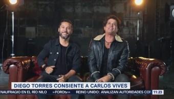 Diego Torres y Carlos Vives logran éxito con canción