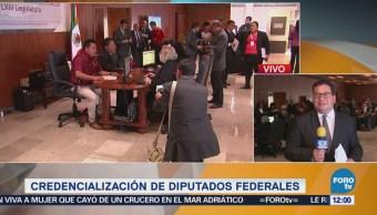 Diputados federales electos inician proceso de credencialización