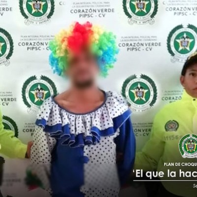Se disfraza de payaso para intentar cometer abuso sexual