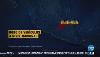 Ecatepec Ocupa Primer Lugar Nacional Robo Autos