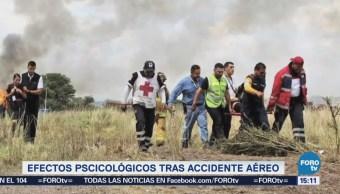 Efectos psicológicos tras accidente aéreo en Durango