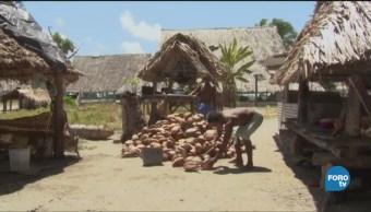 El Archipiélago De Kiribati País A Punto Desaparecer