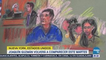 'El Chapo' Guzmán comparecerá ante juez de Nueva York