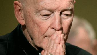 Obispos EU piden investigar abusos de excardenal McCarrick