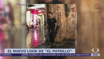 El nuevo look de Alejandro Fernández 'El Potrillo'