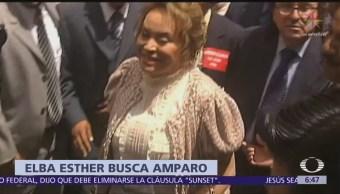 Elba Esther Gordillo pide amparo para evitar nuevo arresto