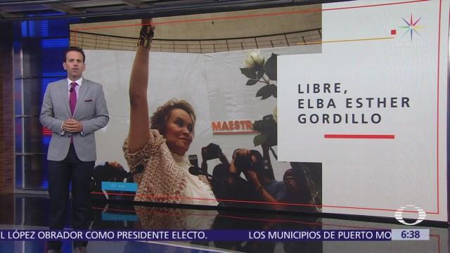 Elba Esther Gordillo ya no enfrenta cargos judiciales