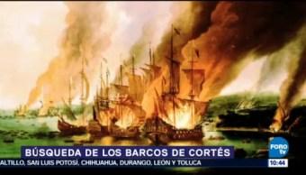 En busca de los restos de los barcos de Cortés