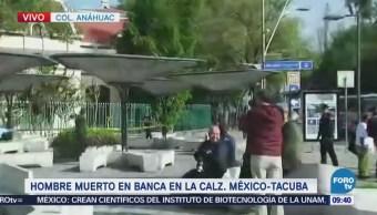 Encuentran un cadáver en parque de la colonia Anáhuac, CDMX