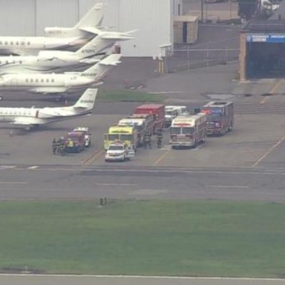 Avioneta del rapero Post Malone intenta aterrizaje de emergencia en Massachusetts