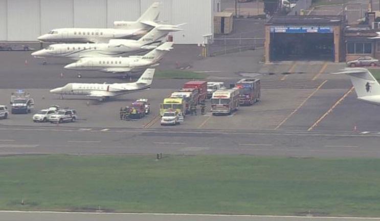 Avión de Post Malone intenta aterrizaje de emergencia