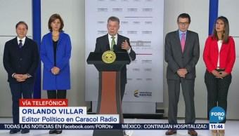 'Estaba en cosas más importantes': Santos a Maduro
