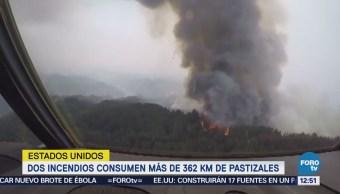 Estados Unidos está en alerta por incendios forestales