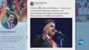 Estallido Evento Nicolás Maduro Venezuela Especulaciones
