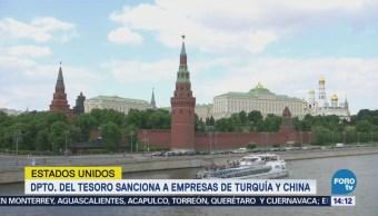EU sanciona a empresas de Rusia, China y Turquía