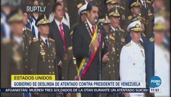 EU se deslinda de atentado contra Maduro