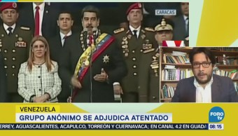Existe escepticismo entre venezolanos ante atentado contra Maduro: Guillermo Massone