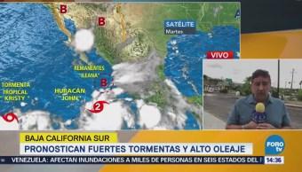 Pronostican Lluvias Fuertes Baja California Sur