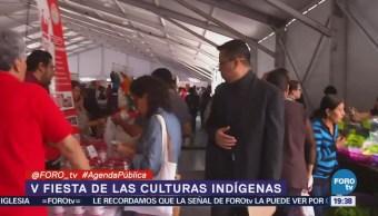Fiesta Culturas Indígenas Zócalo De Cdmx