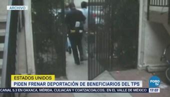 Fiscales piden frenar deportación de beneficiarios del TPS