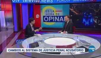 Cambios Sistema Justicia México Gerardo Laveaga