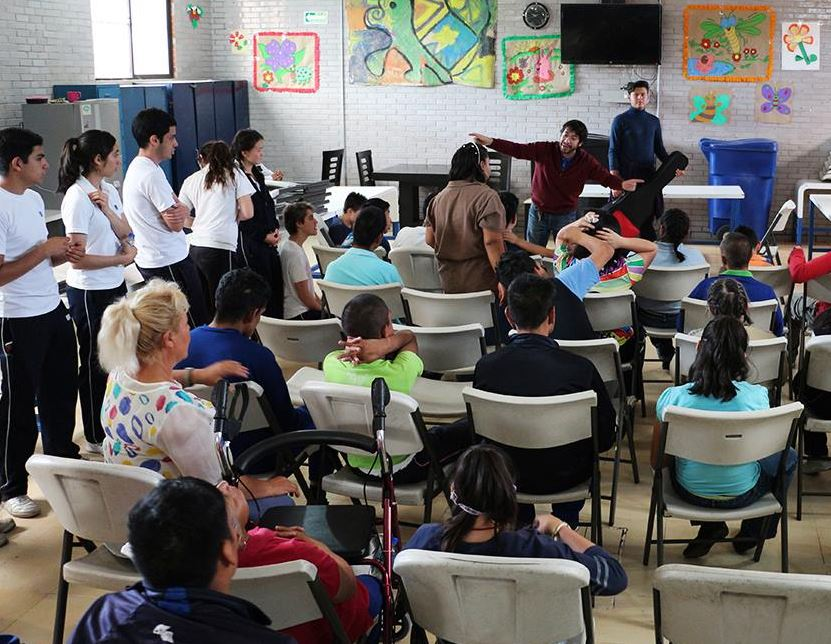 Fraternidad Sin Fronteras apoya a personas con discapacidad