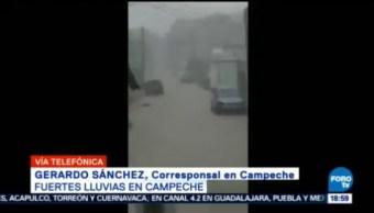 Fuertes Lluvias Provocan Daños Campeche Lluvias Zonas De Campeche Inundacione Encharcamientos