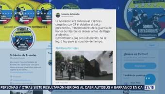 Grupo Anónimo Se Adjudica Ataque Maduro