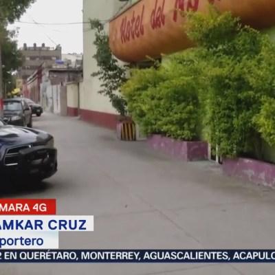 Hallan un cuerpo en un hotel de la Ciudad de México