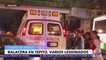 Hieren a niño durante una balacera en Tepito