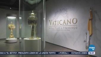 Historia del Vaticano se expone en San Ildefonso