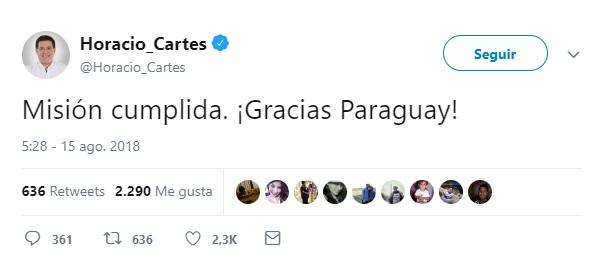 Mario Abdo Benítez el nuevo presidente electo de Paraguay