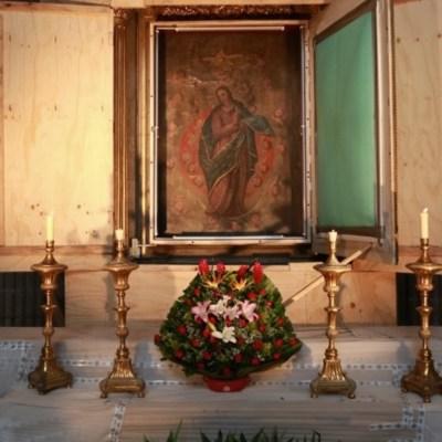 INAH instala circuito cerrado para celebrar a Nuestra Señora de los Ángeles, patrona de la Guerrero