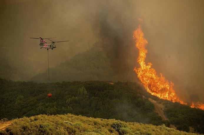 Incendio Mendocino, más grande en la historia de California