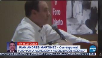 Inicia 'Foro por la Pacificación en Coahuila