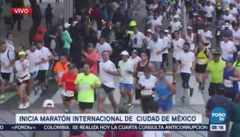 Inicia Maratón de la CDMX
